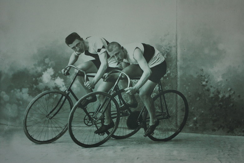 Old Cycle Racing Photo