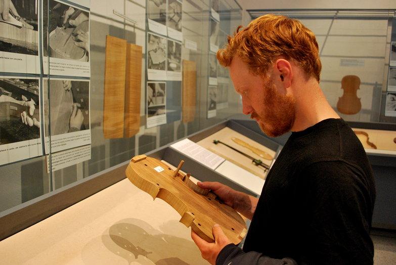 Tyler @ Stradivari Museum