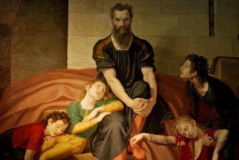 Il conte Ugolino: Giuseppe Diotti