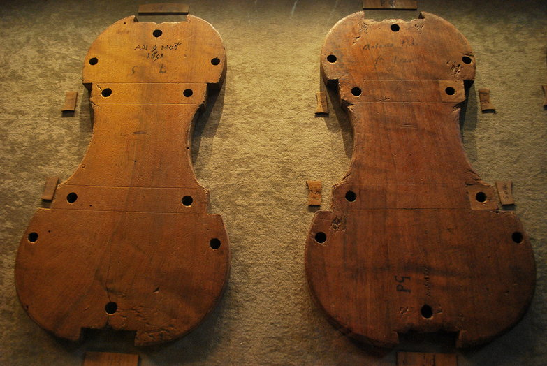 Stradivari Violin Templates