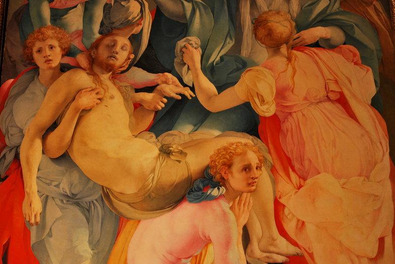 Santa Felicita Painting