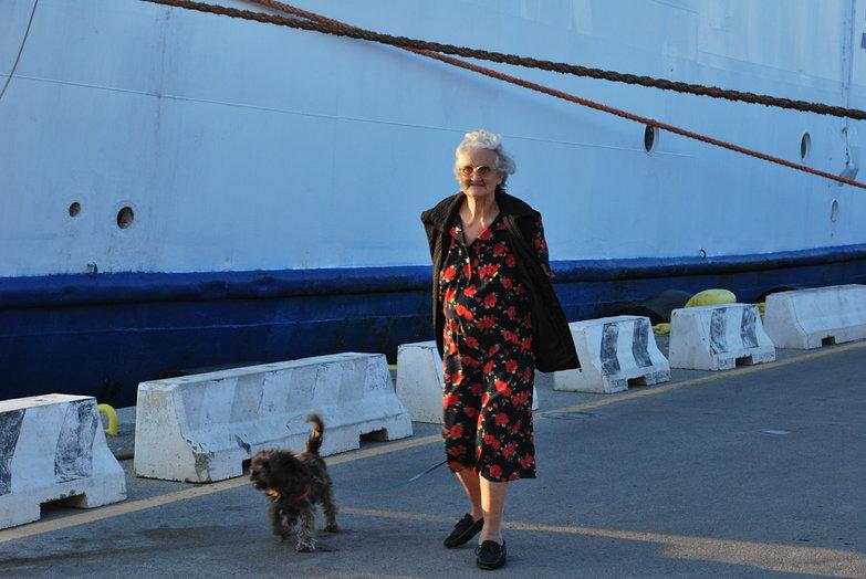 Woman & Dog