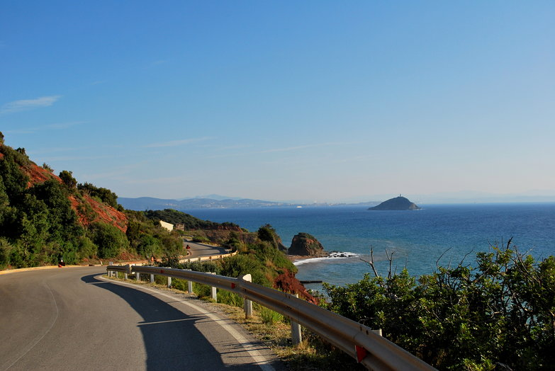 Elba Island Coast Road