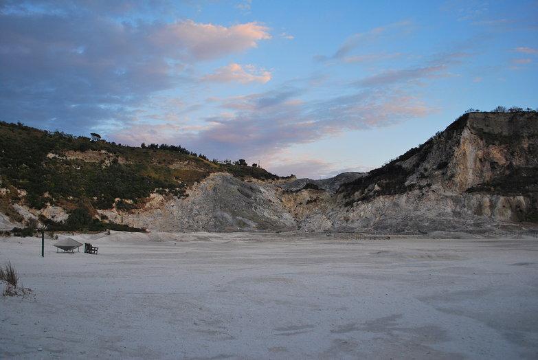 Solfatara Volcano Crater