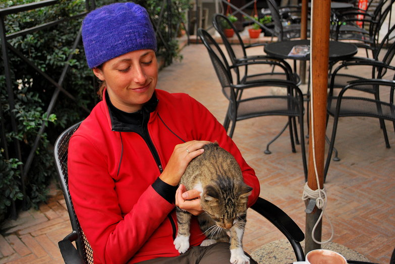 Tara & Campsite Cat