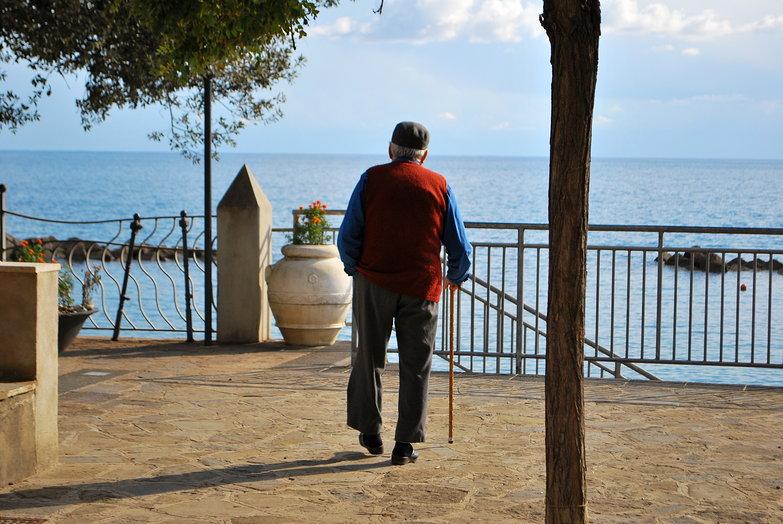 Old Italian Man