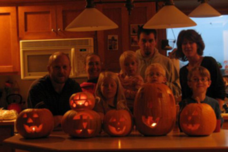 Kellen Family Pumpkins (2009)
