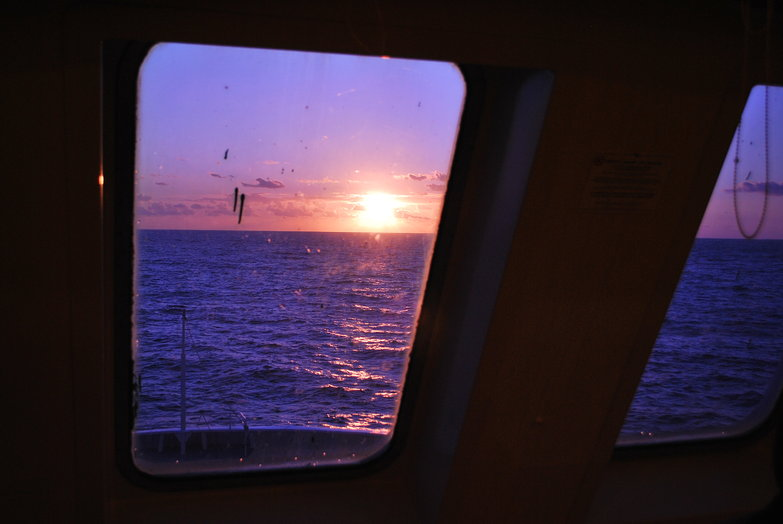 Ferry Sunset