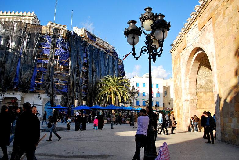 Tunis Medina Arch