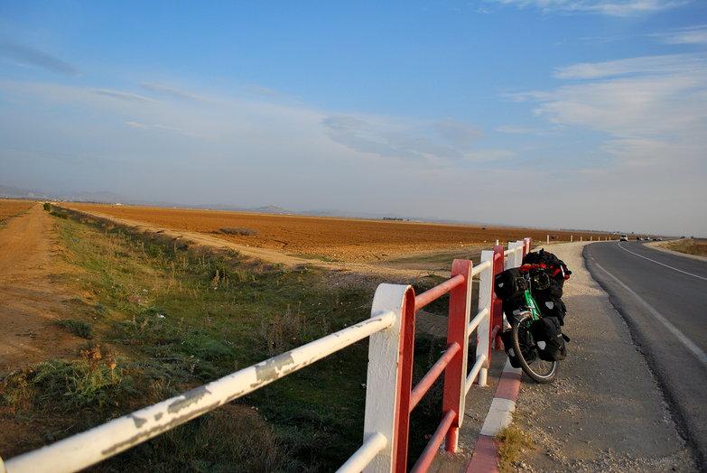Bikes & Tunisian Landscape