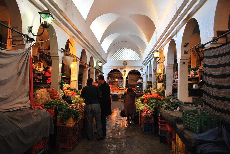 Sousse Medina Fruit Market