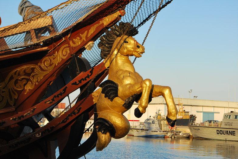 Golden Horse Masthead