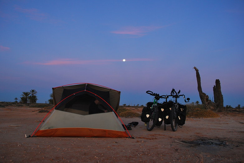 Moon Over Free Camp