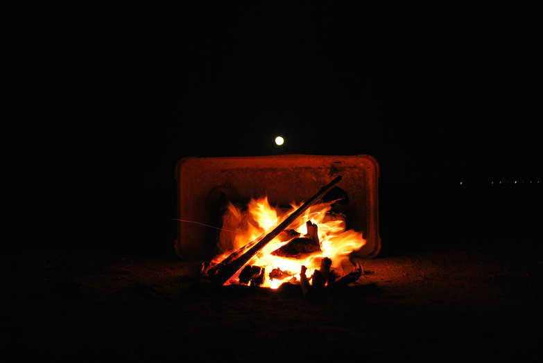 Moon Over Fire