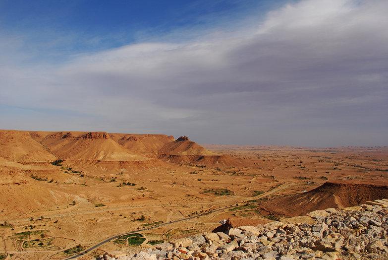 View from Chenini
