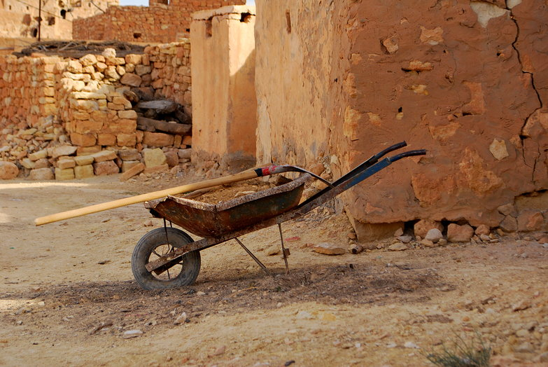 Chenini Wheelbarrow