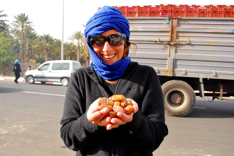 Tara w/ Handful of Dates