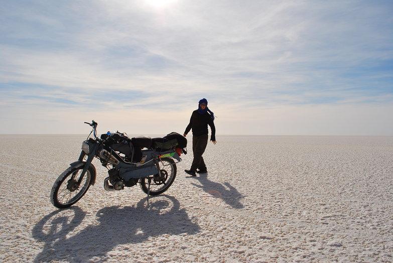 Chott el Jerid Salt Flats