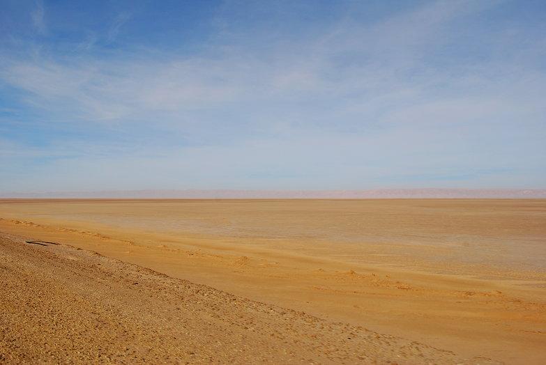 Salt Flats Approaching