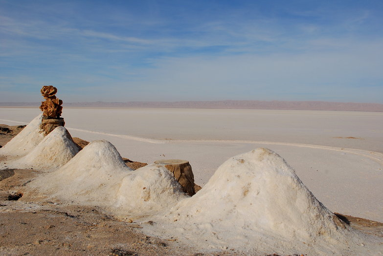 Chott el Jerid Salt Mounds
