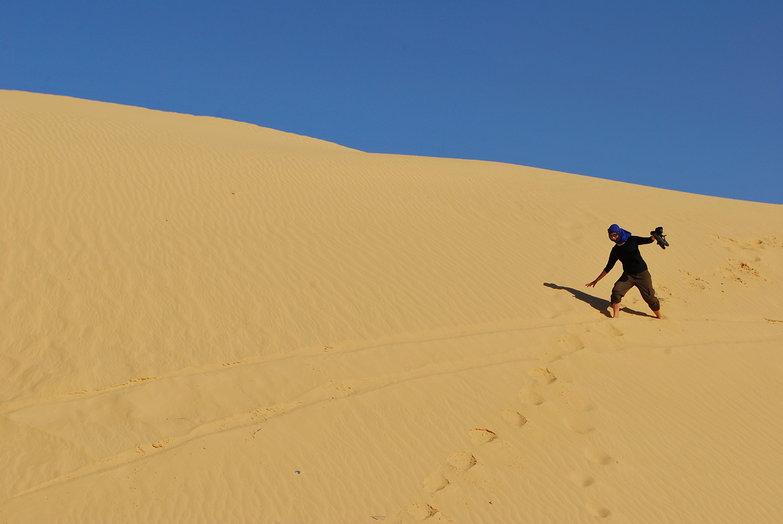 Tara on the Dunes