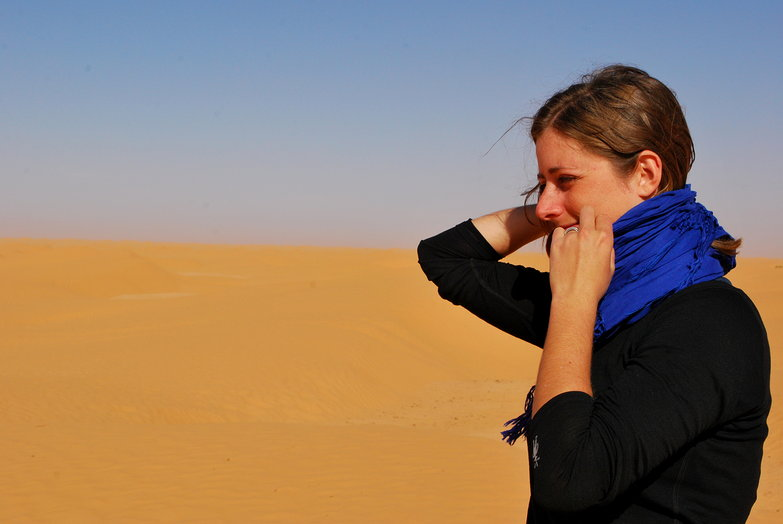 Tara in the Sahara