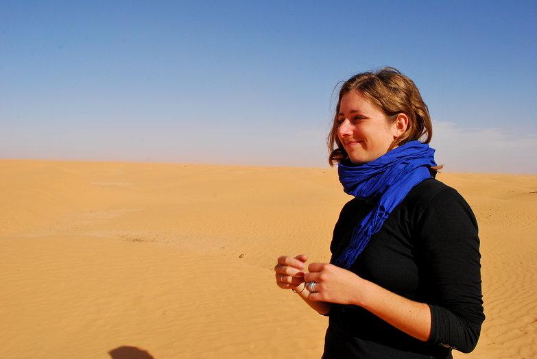 Tara in the Sahara