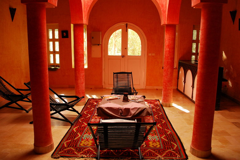 Hammam Waiting Room