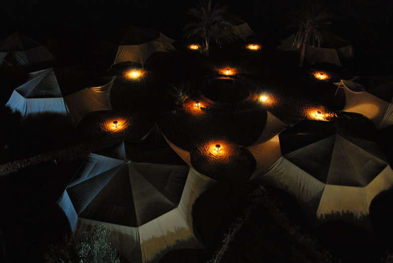 Hotel Pansea Tents From Above