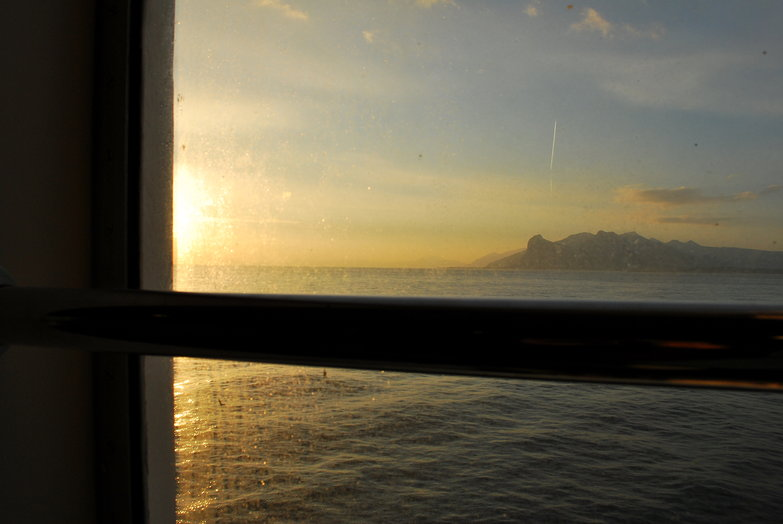Ferry View of Sicily