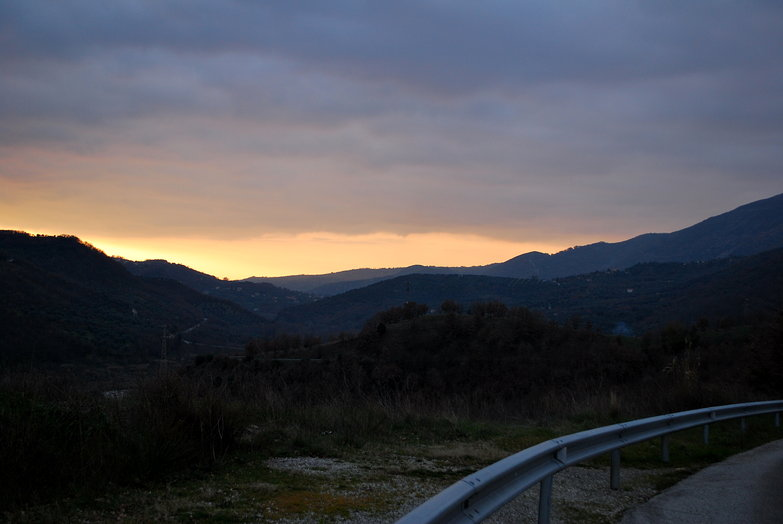 Potenza Mountain Sunset