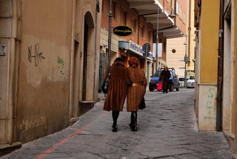 Italian Women in Furs