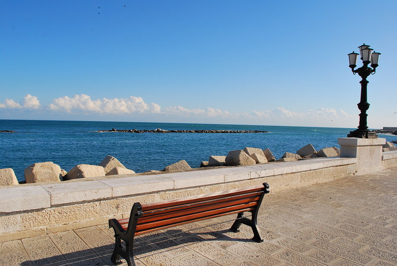 Bari Seaside Parkbench