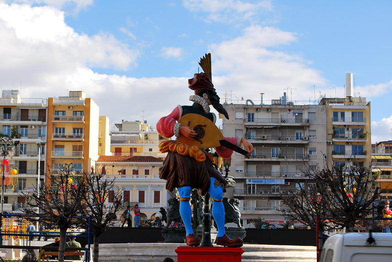 Patras Carnival Preparations