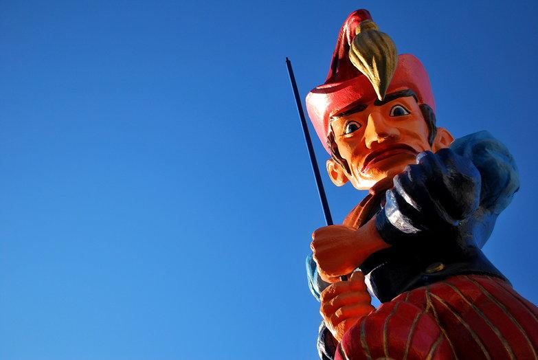 Patras Carnival Statue