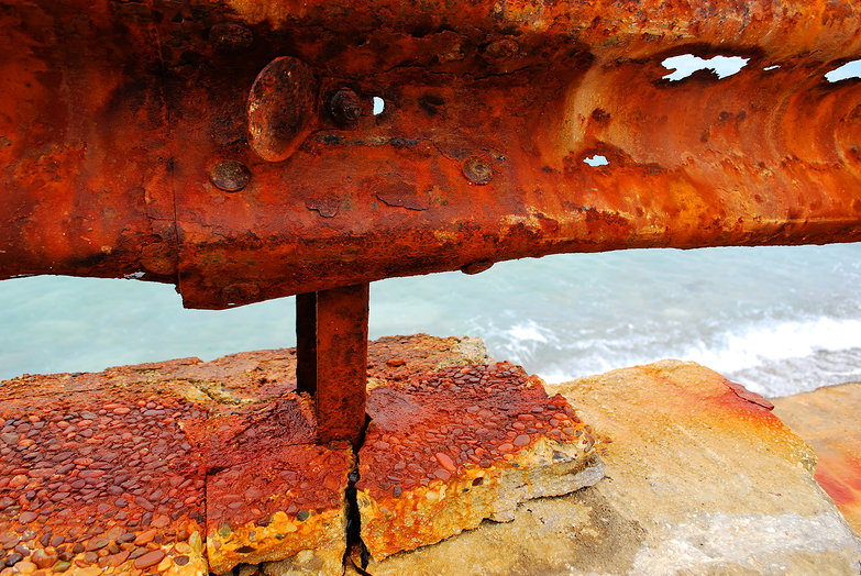 Rusty Guardrail