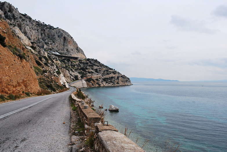 Greek Coast Road
