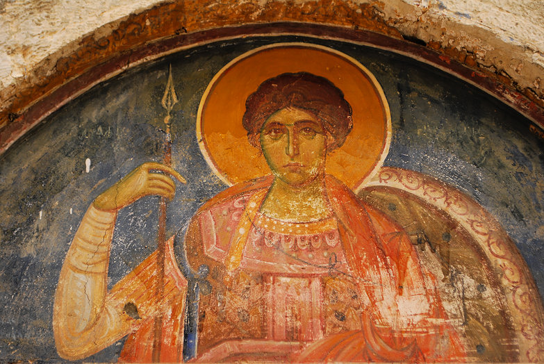Monastery Fresco