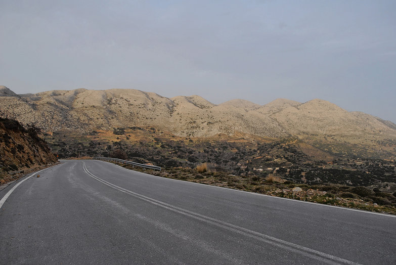 Road to Lasithi Plateau