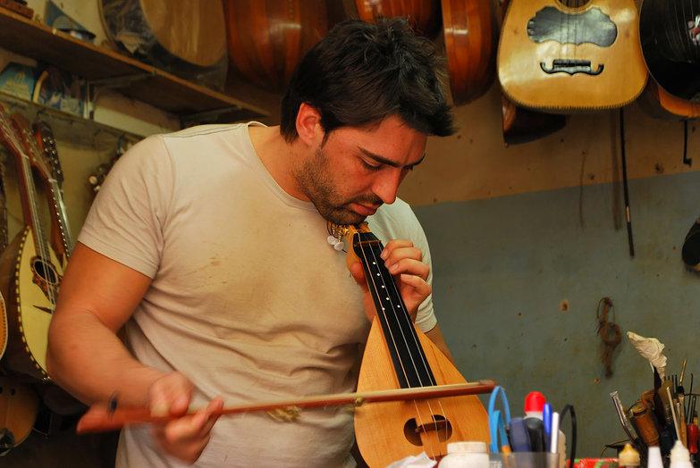 Nikos, Cretan Lyra Maker/Musician