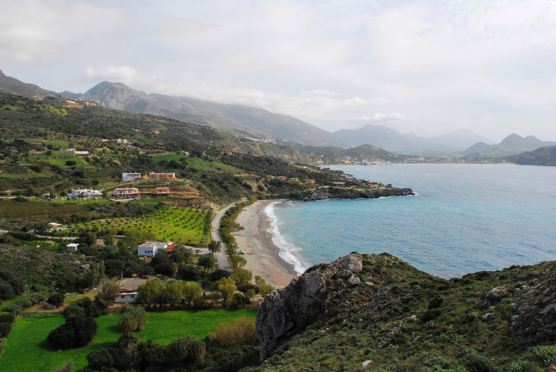 View of Southern Crete