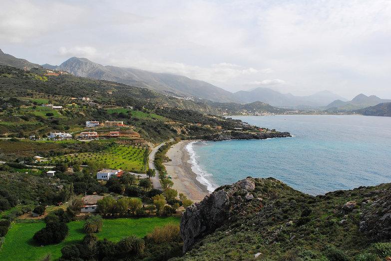 View of Southern Crete