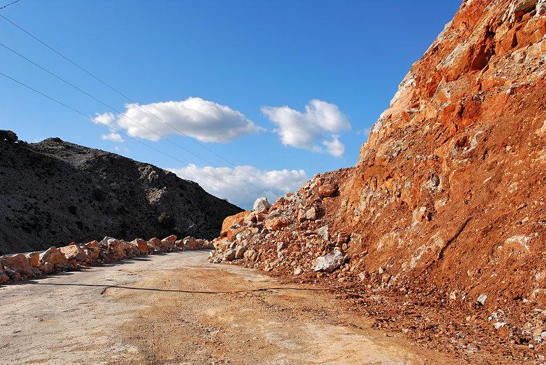 Rocky Roadside