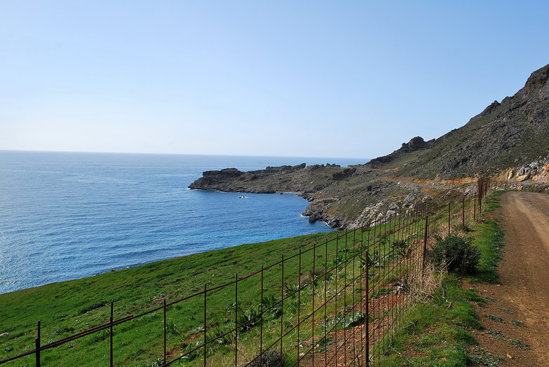 Cretan Seaside Road