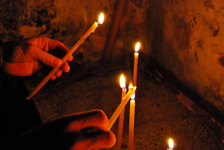 Cretan Church Candles