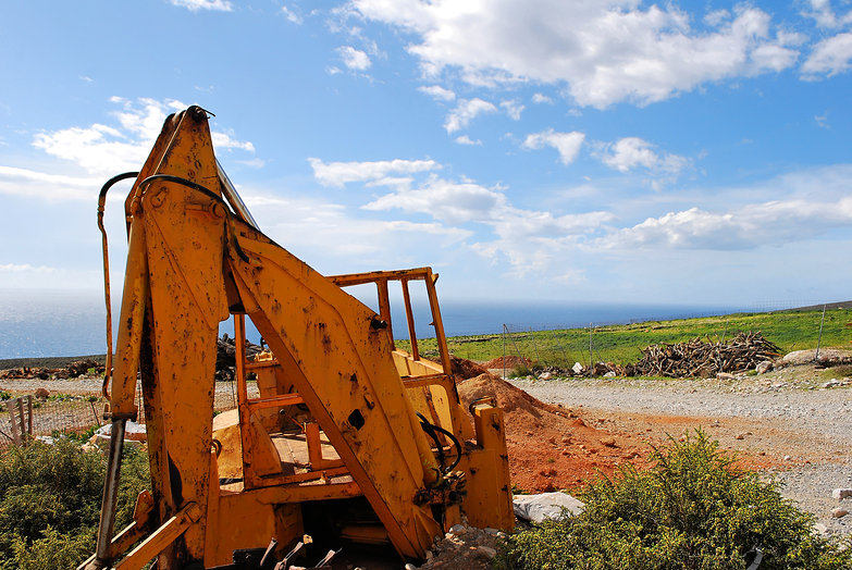 Cretan Backhoe