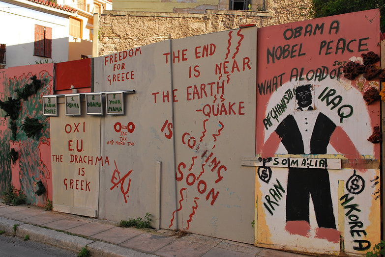 Athens Political Graffiti