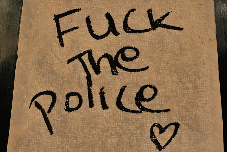 Fuck the Police (heart!)