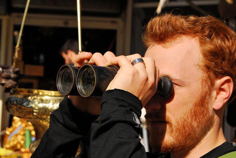 Tyler & Flea Market Binoculars