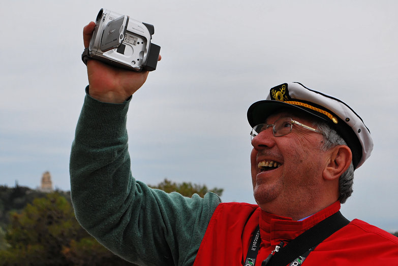 Happy Captain Camcorder